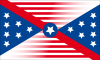 Flagge Confederation of American States (alt).png