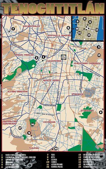Tenochtitlán - Die Shadowhelix - Das deutsche Shadowrun Wiki